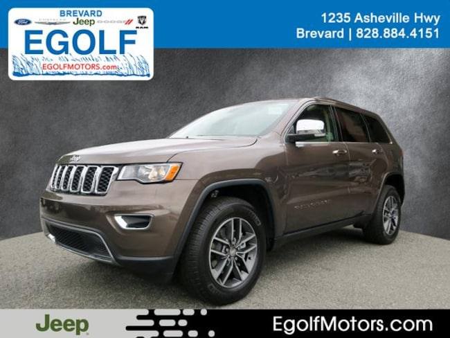 New 2018 Jeep Grand Cherokee LIMITED 4X4 Sport Utility Near Asheville