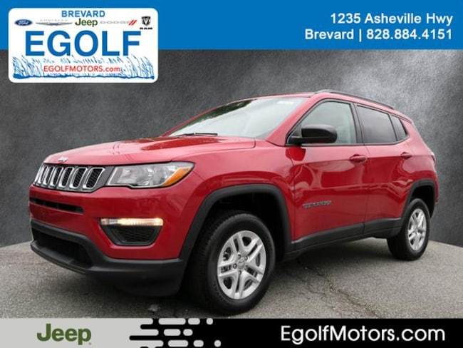 New 2018 Jeep Compass SPORT 4X4 Sport Utility Near Asheville