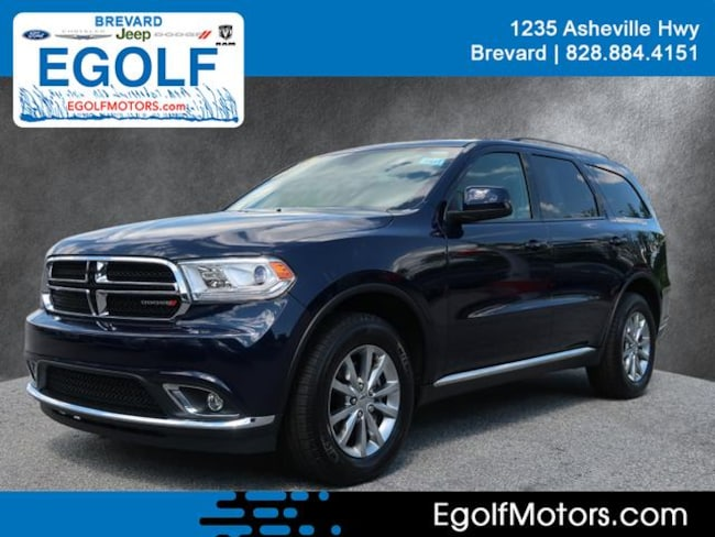 Used 2018 Dodge Durango SXT AWD SXT  SUV Near Asheville