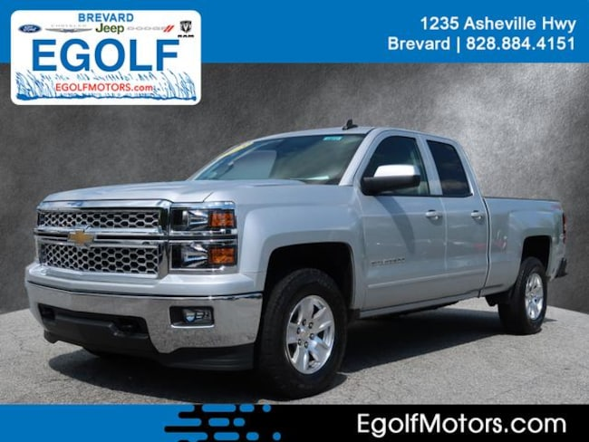 Used 2015 Chevrolet Silverado 1500 LT 4x4 LT  Double Cab 6.5 ft. SB Near Asheville