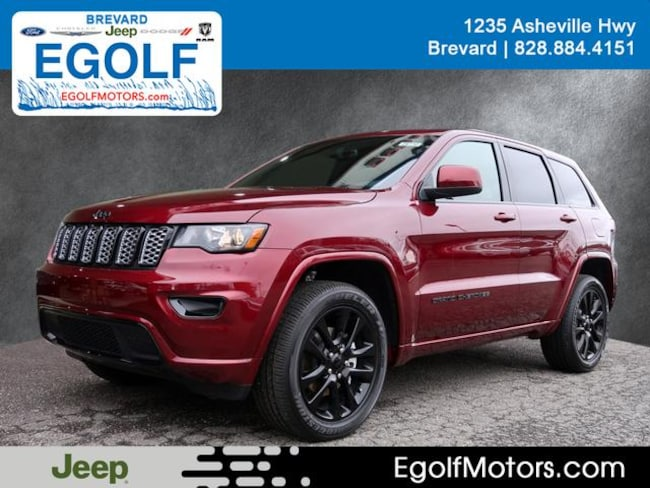 New 2019 Jeep Grand Cherokee ALTITUDE 4X4 Sport Utility Near Asheville