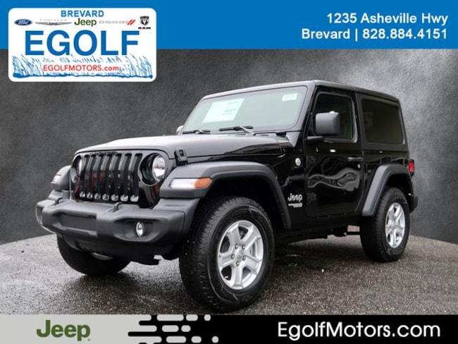 New 2019 Jeep Wrangler SPORT S 4X4 Sport Utility Near Asheville