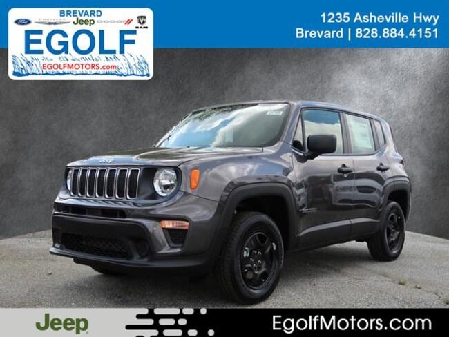 New 2019 Jeep Renegade SPORT 4X4 Sport Utility Near Asheville