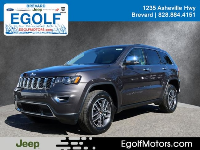New 2019 Jeep Grand Cherokee LIMITED 4X4 Sport Utility Near Asheville