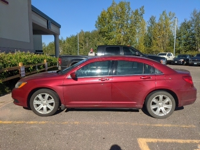 Used 2013 Chrysler 200 Touring with VIN 1C3CCBBB4DN585581 for sale in Pine City, Minnesota