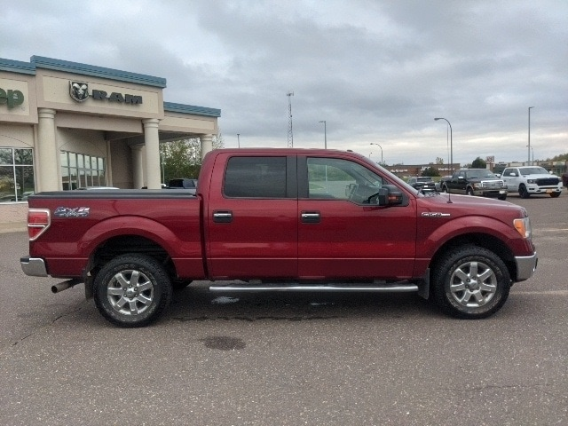 Used 2014 Ford F-150 XLT with VIN 1FTFW1EF3EKE97522 for sale in Pine City, Minnesota