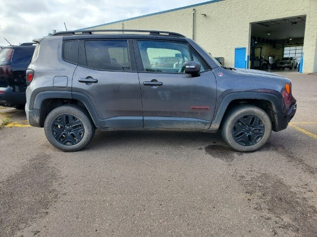 Used 2018 Jeep Renegade Trailhawk with VIN ZACCJBCB7JPH37579 for sale in Pine City, Minnesota