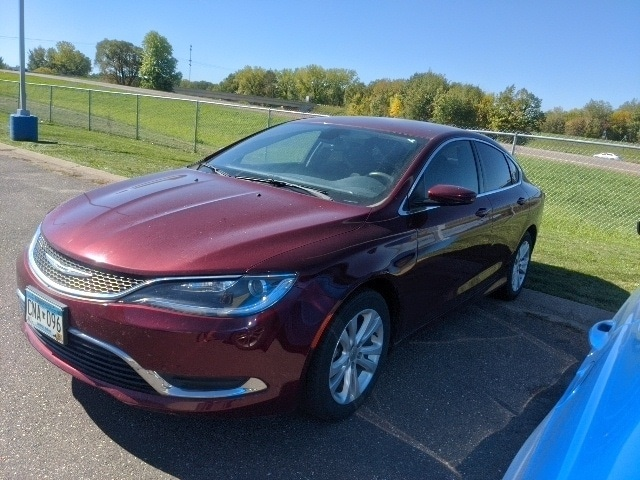 Used 2015 Chrysler 200 Limited with VIN 1C3CCCAB6FN654992 for sale in Pine City, Minnesota