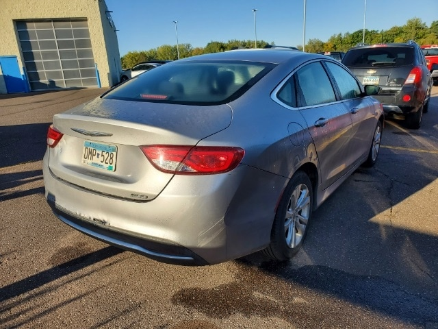 Used 2015 Chrysler 200 Limited with VIN 1C3CCCAB8FN637160 for sale in Pine City, Minnesota