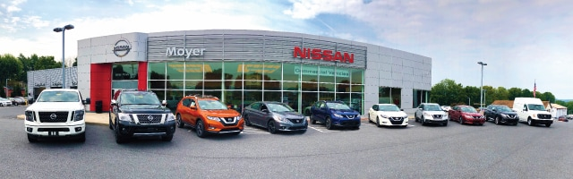 About Moyer Nissan in Wernersville | Pennsylvania Nissan ...