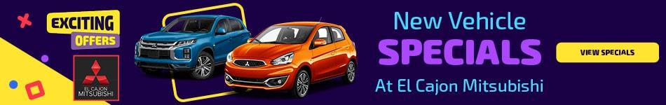 New Vehicle Specials - January 2021