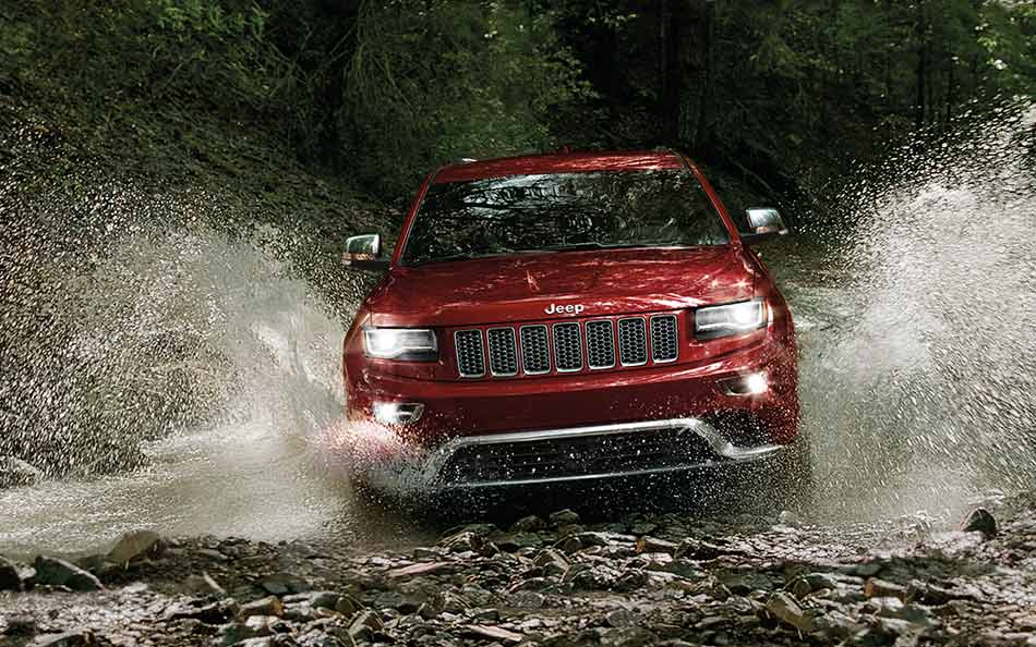 2016 Jeep Grand Cherokee Off-Road Capable