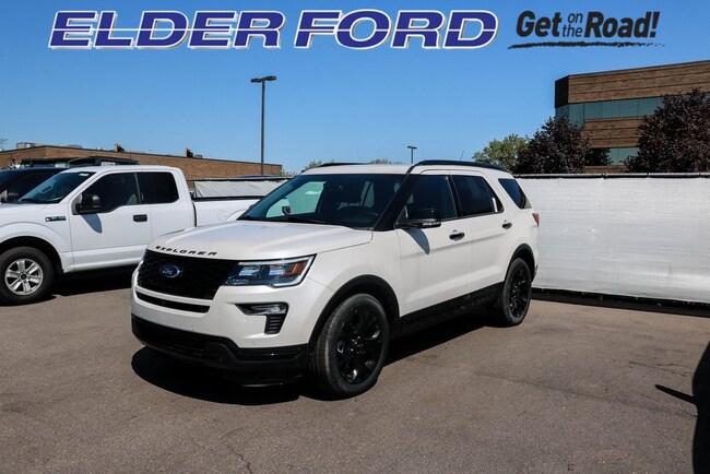 New 2019 Ford Explorer Sport SUV in Troy, MI