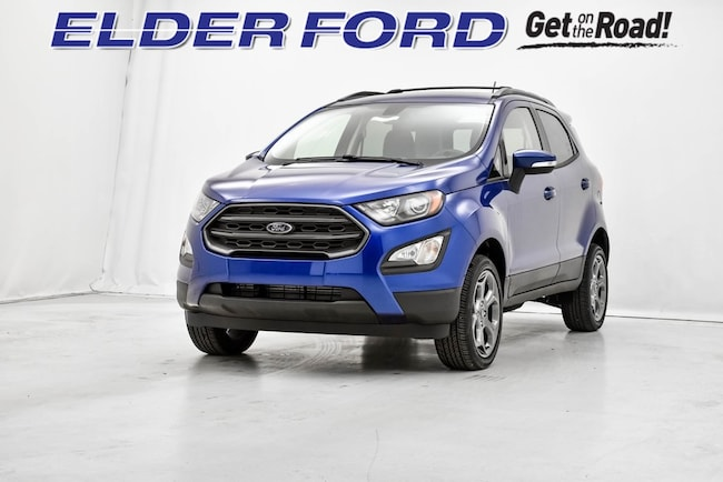 New 2018 Ford EcoSport SES SUV in Troy, MI