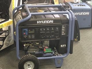 2018 Hyundai 7500W Portable Inverter Generator