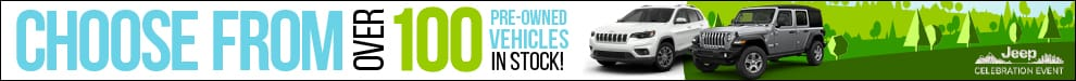 Choose from over 100 Preowned vehicles