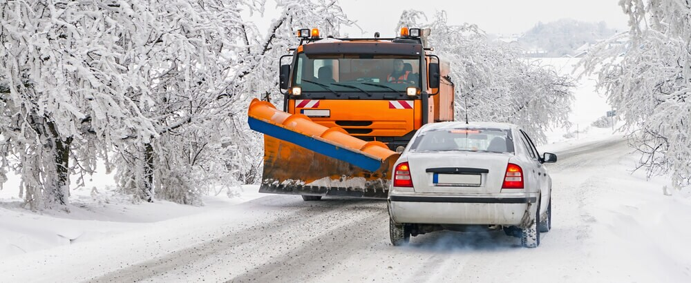 Winter maintenance of roads in mountain areas