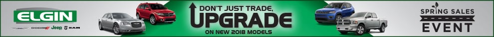 Don't Just Trade, Upgrade on New 2018 Models. Spring Sales Event
