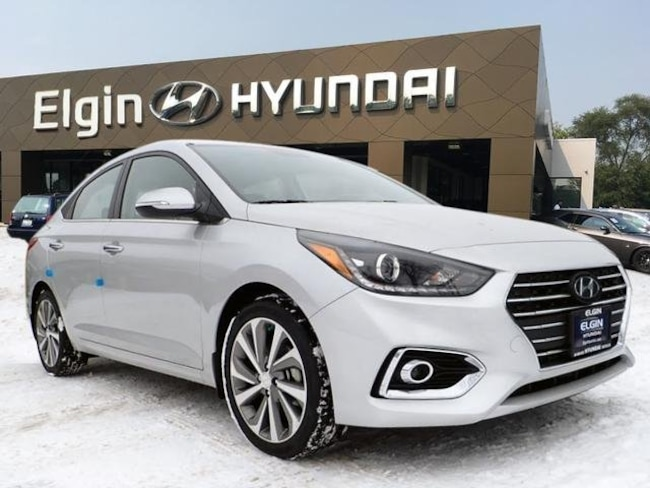 New 2019 Hyundai Accent Limited Sedan For Sale/lease Elgin, Illinois