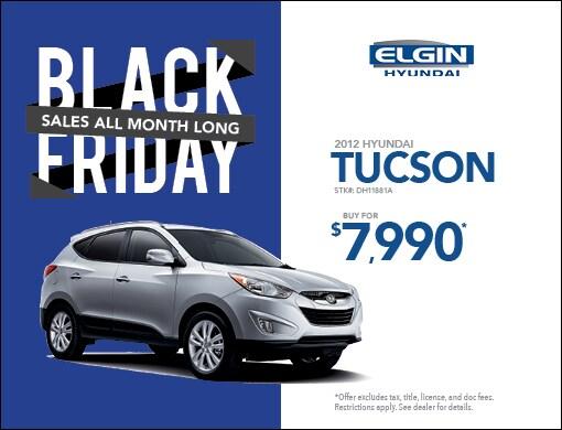 Strong Black Friday Specials Strong Elgin Hyundai