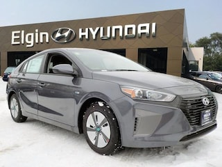 New 2019 Hyundai Ioniq Hybrid Blue Hatchback in Elgin, IL