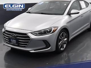 Certified 2017 Hyundai Elantra Limited Limited 2.0L Auto PZEV (Alabama) *Ltd Avail* in Elgin, IL