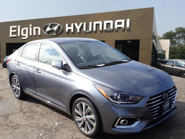 New 2019 Hyundai Accent Limited Sedan For Sale/lease Elgin, Illinois