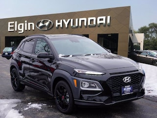 New 2021 Hyundai Kona NIGHT SUV in Elgin, IL
