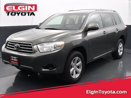 Featured Used 2010 Toyota Highlander Front-wheel Drive for Sale near Elgin, IL