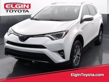 Featured Used 2018 Toyota RAV4 Hybrid All-wheel Drive for Sale near Elgin, IL