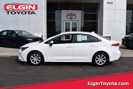Featured Used 2021 Toyota Corolla Front-wheel Drive for Sale near Elgin, IL
