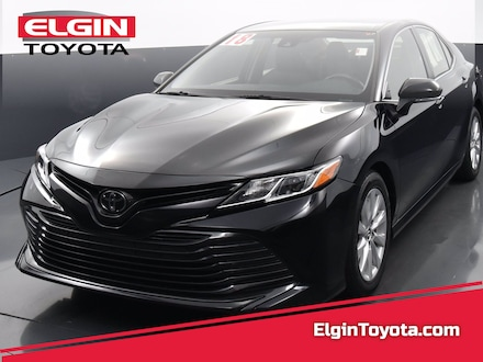 Featured Used 2018 Toyota Camry Front-wheel Drive for Sale near Elgin, IL