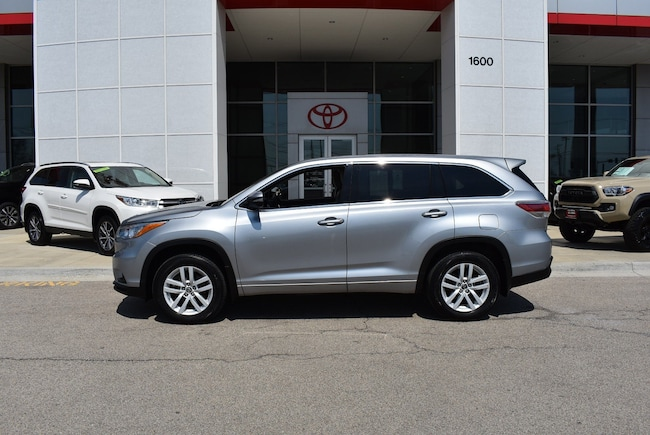 2016 Toyota Highlander For Sale >> Used 2016 Toyota Highlander For Sale Streamwood Il Stock P13737