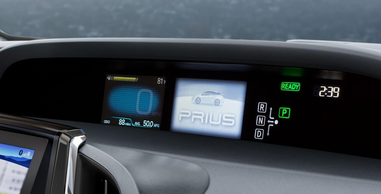 Prius Interior 3