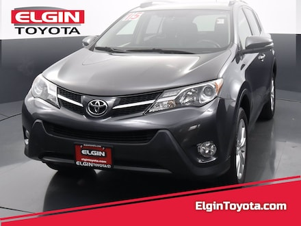 Featured Used 2015 Toyota RAV4 All-wheel Drive for Sale near Elgin, IL