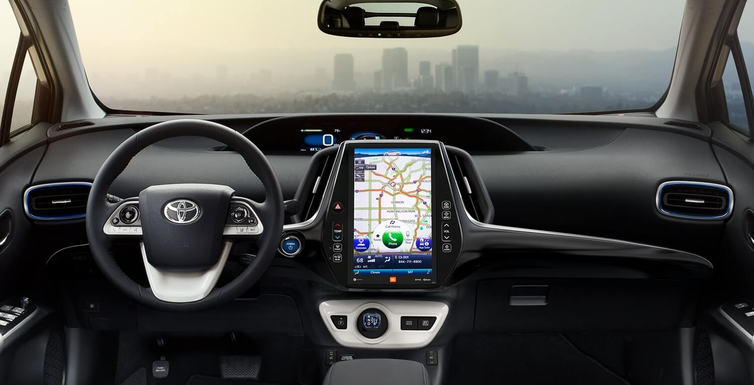 Attractive Prius Interior 1