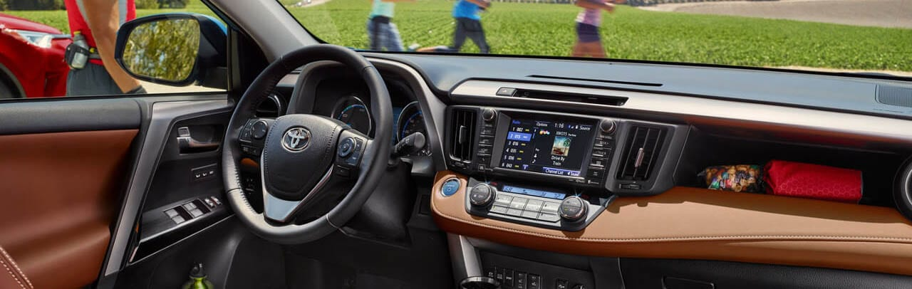 2018 Toyota RAV4 Dashboard Border