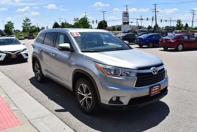 2016 Toyota Highlander For Sale >> Used 2016 Toyota Highlander For Sale Streamwood Il Stock D50734a