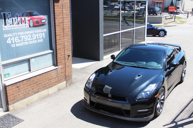 2012 Nissan GT-R Black Edition Coupe