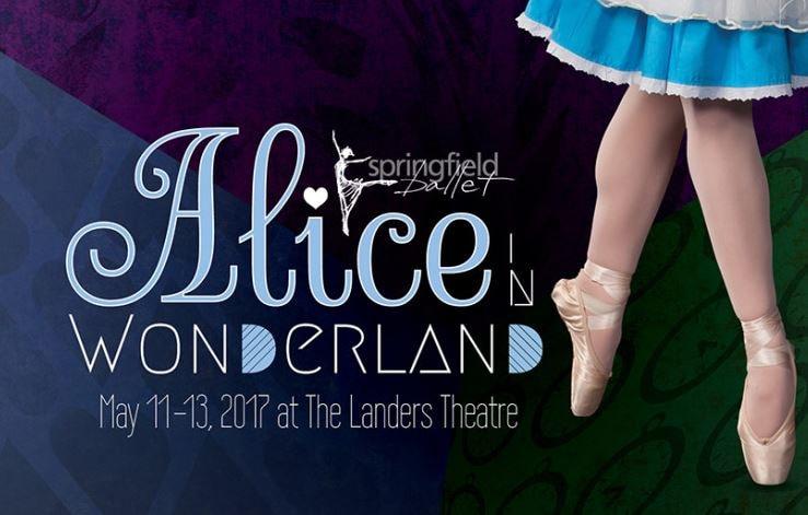 alice in wonderland ballet show in springfield missouri