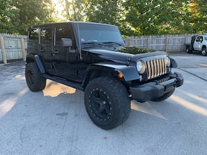 2014 Jeep Wrangler Unlimited Unlimited Sahara SUV