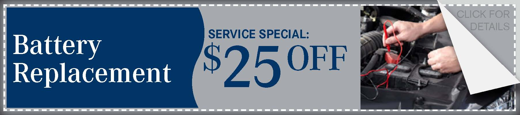 Battery Savings Coupon, Springfield, MO