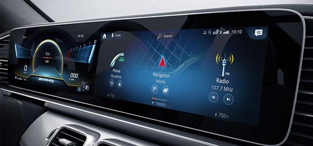 2021 Mercedes-Benz AMG GLE 53 Infotainment