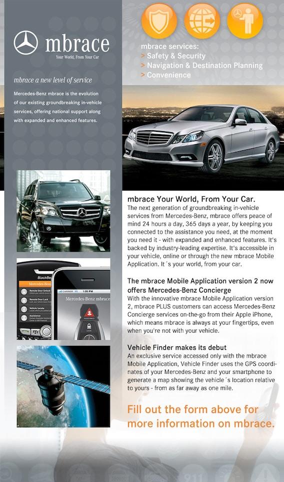 Mercedes Benz Mbrace App >> Mercedes Mbrace Service Plan Mercedes Service Center