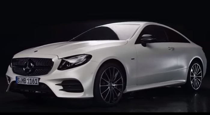 2018 Mercedes-Benz E-Class Coupe is strikingly handsome
