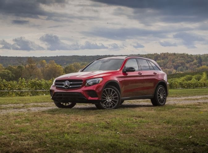 Mercedes-Benz GLC Earns Top Safety Award
