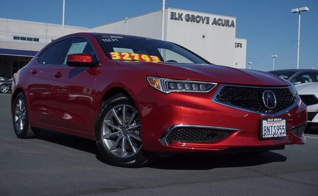 2020 Acura TLX w/Technology Pkg Sedan