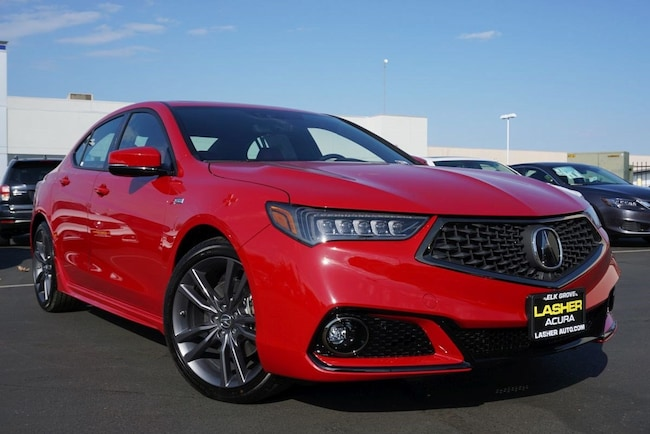 2019 Acura TLX 2.4 8-DCT P-AWS with A-SPEC RED Sedan