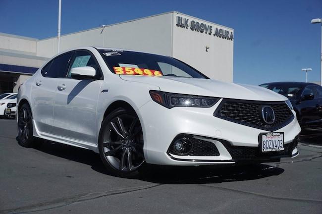 2019 Acura TLX w/A-Spec Pkg Sedan