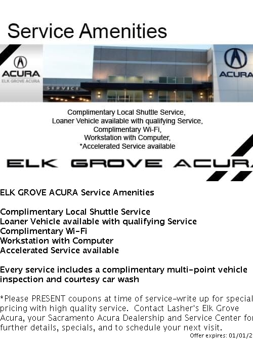 photo relating to Printable Coupons Acura Service identify Services Bargains Elk Grove Acura